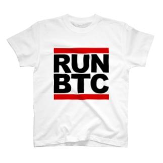 RUN BTC Tシャツ