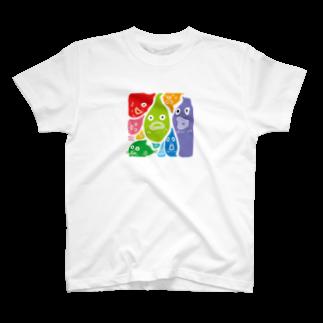 ウチダヒロコ online storeのダンゴウオTシャツ