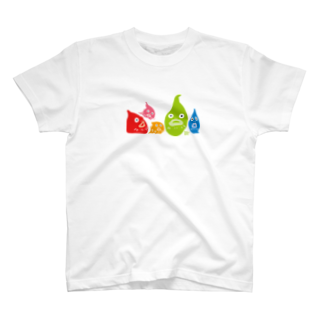 ウチダヒロコ online storeの横並びダンゴウオTシャツ