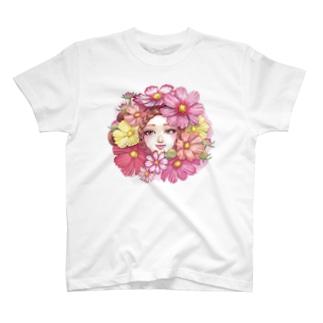 秋櫻 Tシャツ