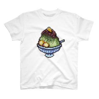 宇治金時のドット絵 Tシャツ