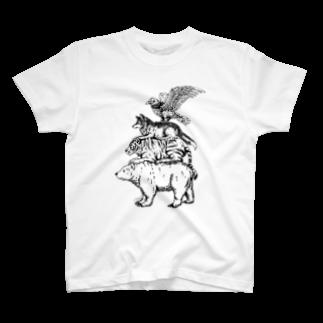 Acabane* Shopの猛獣ブレーメン(simple)Tシャツ