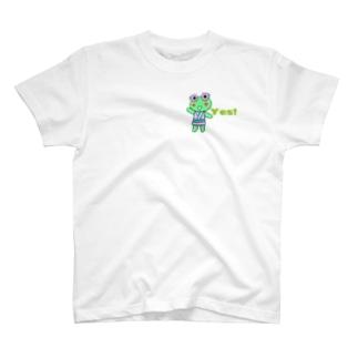 YESカエル Tシャツ