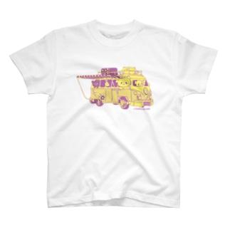 ドライブおやまくま Tシャツ