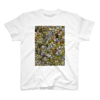 いっぱいワンコ Tシャツ