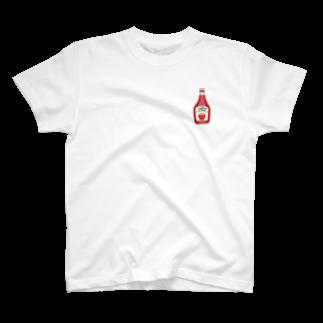 aiton2875のケチャップTシャツ