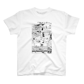 さちおくん「岩センター」 Tシャツ