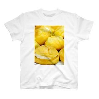 シュークリーム作ってみた。 Tシャツ