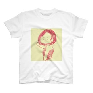 とこなつの、あはん Tシャツ