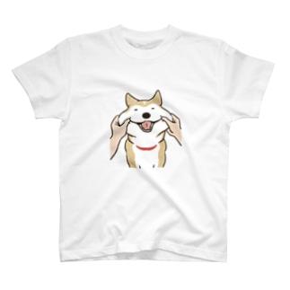 のばされわんこ[もちもち] Tシャツ