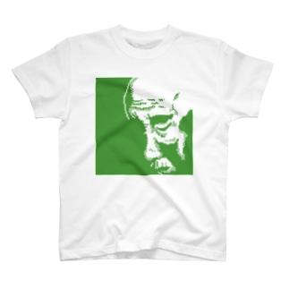 おじいちゃん(緑) Tシャツ