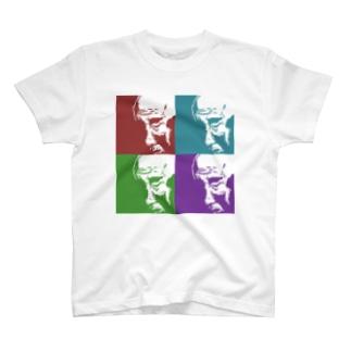 おじいちゃん(四色) Tシャツ