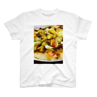 カレーピザ Tシャツ