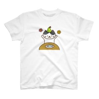 Happy Cat Tシャツ