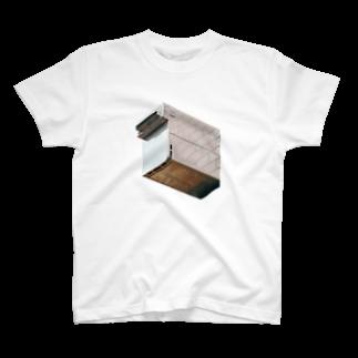 Yusuke SAITOHのレンガのダクト Tシャツ