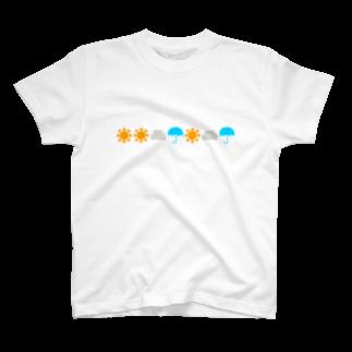 カラー週間予報 Tシャツ