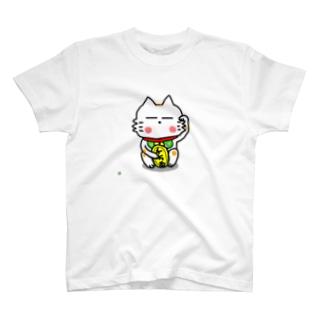 BK あーきちゃん招き猫バージョン Tシャツ