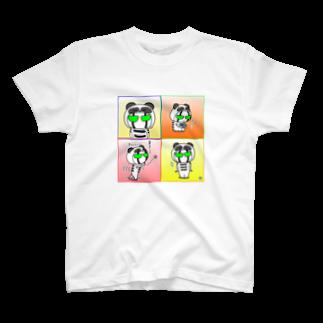 ビケ@BKF48 補欠のBK ぱんだバージョンTシャツ