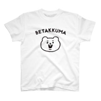 ベタックマ シンプル Tシャツ