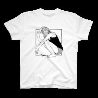 俺シーサイドのガム女Tシャツ
