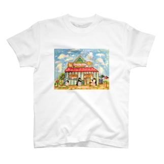 ハウオリお絵かき工房 Tシャツ