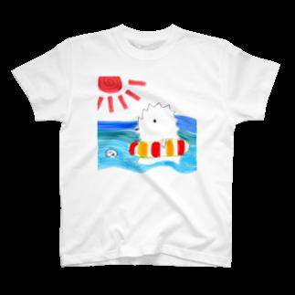 宮澤寿梨のじゅ印良品の【復活♡販売】旬・じゅじら(夏)-カラー選択可能 Tシャツ