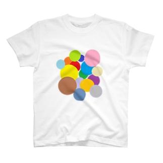 いろいろまるまるトート Tシャツ