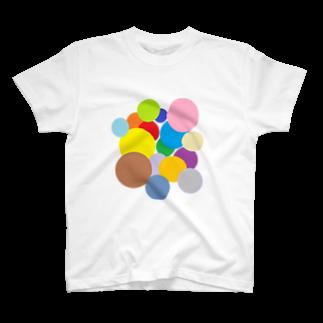P.3のいろいろまるまるトートTシャツ