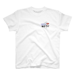 セラミック包丁の切れ味の宣伝 Tシャツ