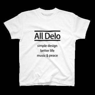 USS Official MerchのAll Delo - better life Tシャツ