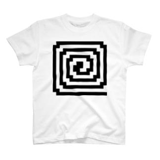 ぐるぐる Tシャツ