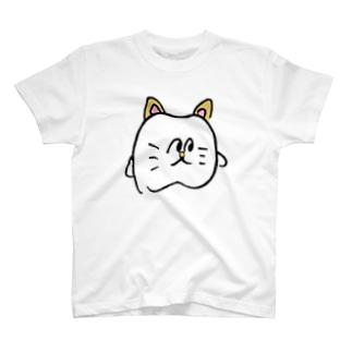 歯のネコ Tシャツ