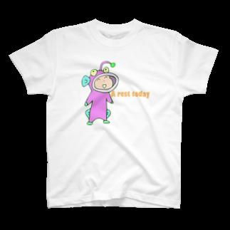 ガウ子ショップの着ぐるみなおこTシャツ