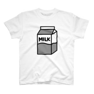 牛乳 Tシャツ