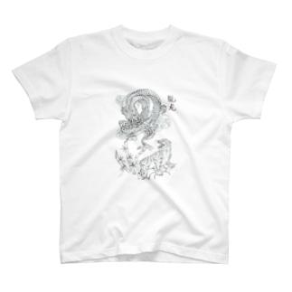 龍虎 Tシャツ