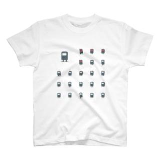 あいさつをするロボット Tシャツ