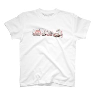 旅するひつじのCAMP Tシャツ