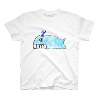 シロナガスクジラ Tシャツ