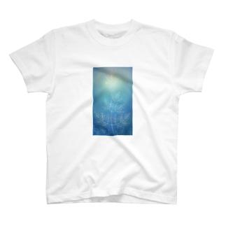 晒の森「翼」 Tシャツ