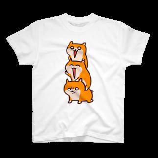 NORICOPOのクソハムトリオ Tシャツ