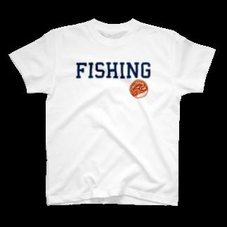ChoorkerのFISHINGTシャツ
