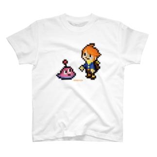 PixelArt 少年とベリースムージー? Tシャツ
