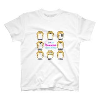 はむきゃんTシャツ(I loveはむきゃん) Tシャツ