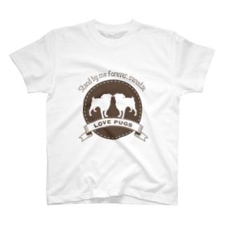 LOVEPUGS Tシャツ