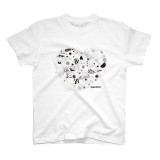 Kayaributa (White) Tシャツ