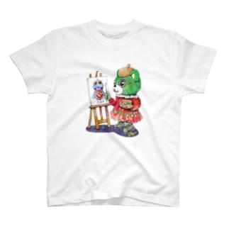 大崎の芸術家 Tシャツ