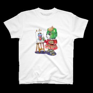 有明ガタァ商会の大崎の芸術家 Tシャツ