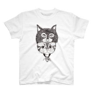もののけ猫 Tシャツ