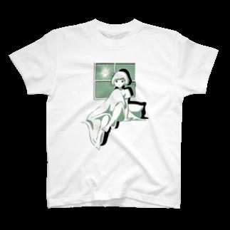真夜中に起きたTee Tシャツ