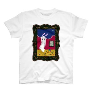 よると兎 Tシャツ